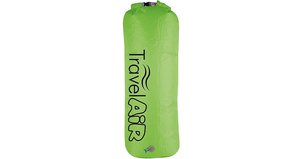 3in1: Luftpumpe, Packsack & Kissen, grün