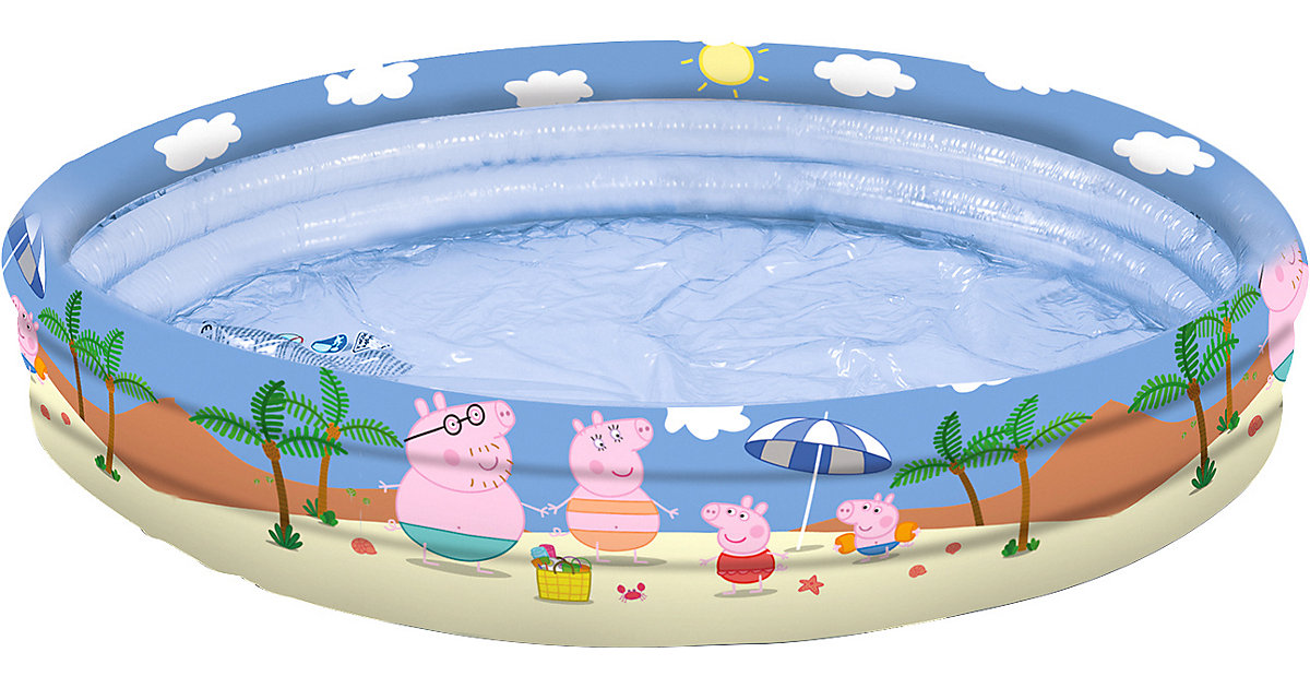 happy people Peppa Pig 3-Ring-Pool, 150 cm bunt