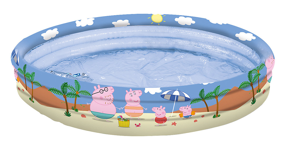 Happy people Peppa Pig 3-Ring-Pool, 120 cm bunt