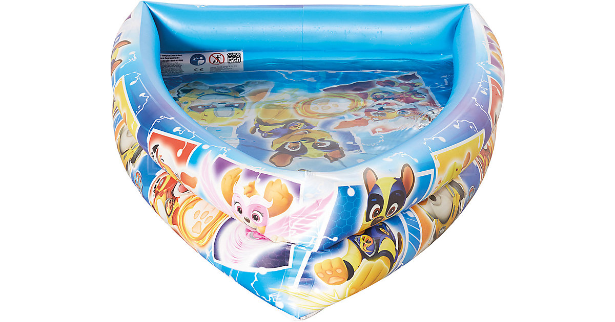 happy people Paw Patrol Pool in Bootsform bunt