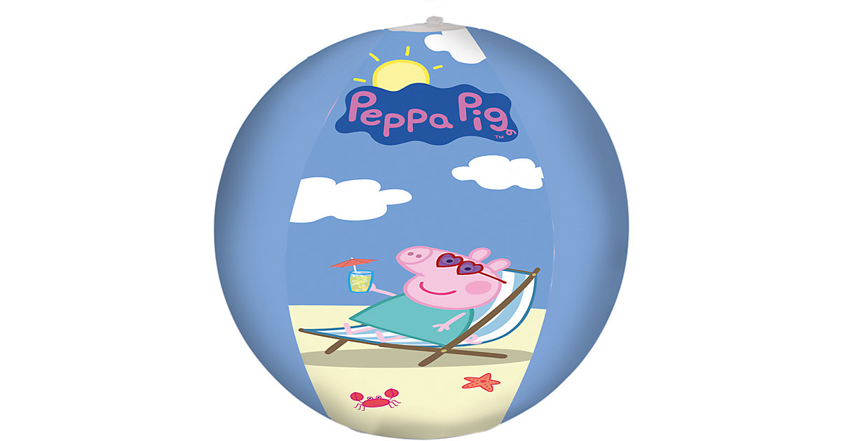 Peppa Pig Wasserball bunt