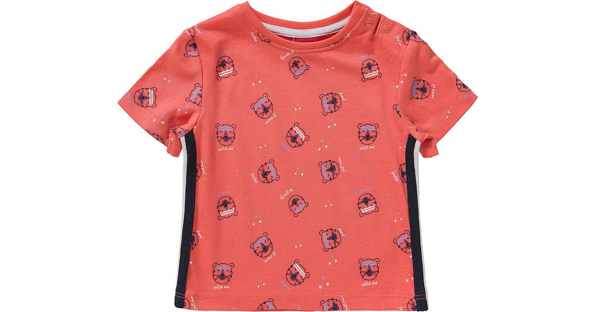 T-SHIRT KURZARM - T-Shirts - männlich rot Gr. 74 Jungen Baby