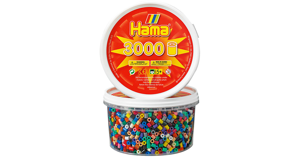 HAMA 210-67 Dose mit 3.000 midi-Perlen