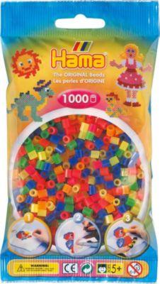 Pastell Gemischt 1.000 Stück Gelernt Hama Perlen