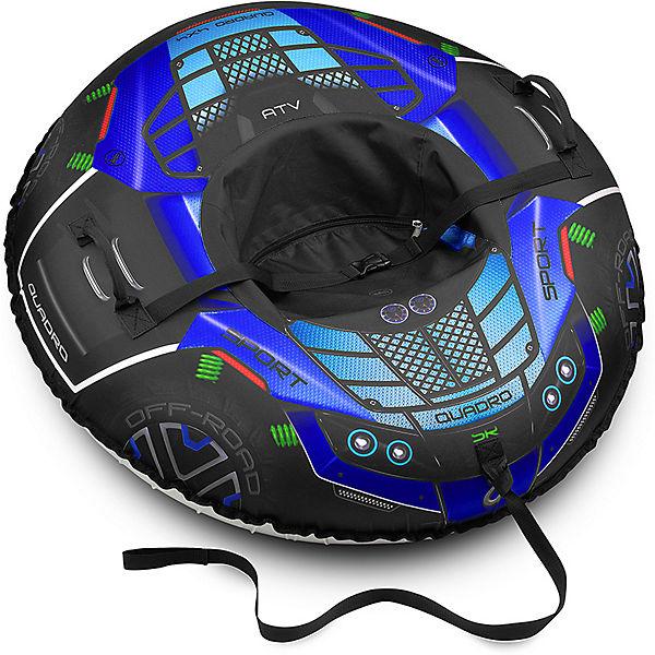 Тюбинг Small Rider Asteroid Quadro 4x4 Квадроцикл, синий
