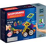 Магнитный конструктор MAGFORMERS Sensor Block Set, 47 деталей
