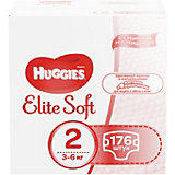Трусики-подгузники Huggies Elite Soft 2, 3-6 кг, 176 шт.