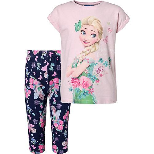 Disney Die Eiskönigin Set T-Shirt + Leggings Gr. 110 Mädchen Kleinkinder   08058648314319