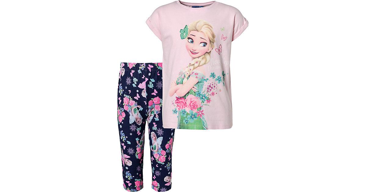 Disney · Disney Die Eiskönigin Set T-Shirt + Leggings Gr. 98 Mädchen Kleinkinder