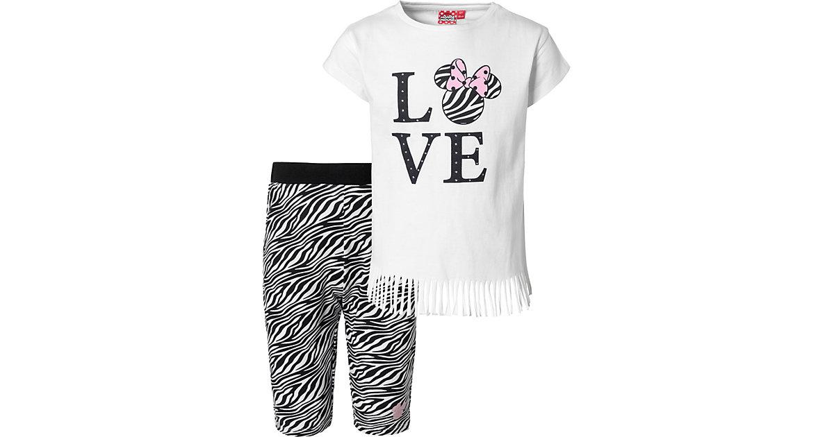 Disney · Disney Minnie Mouse Set T-Shirt + Caprileggings Gr. 104 Mädchen Kleinkinder