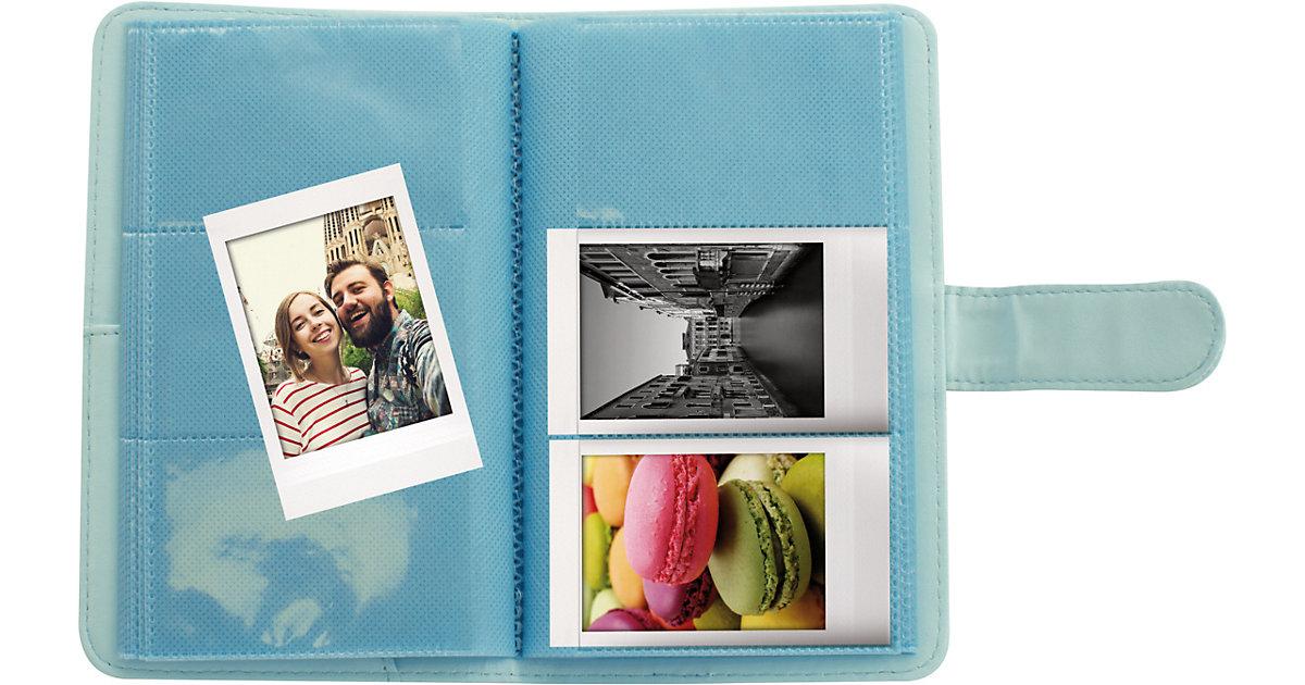 Fujifilm · Instax La Porta Mini Fotoalbum ice blue 108 Bilder Kinder