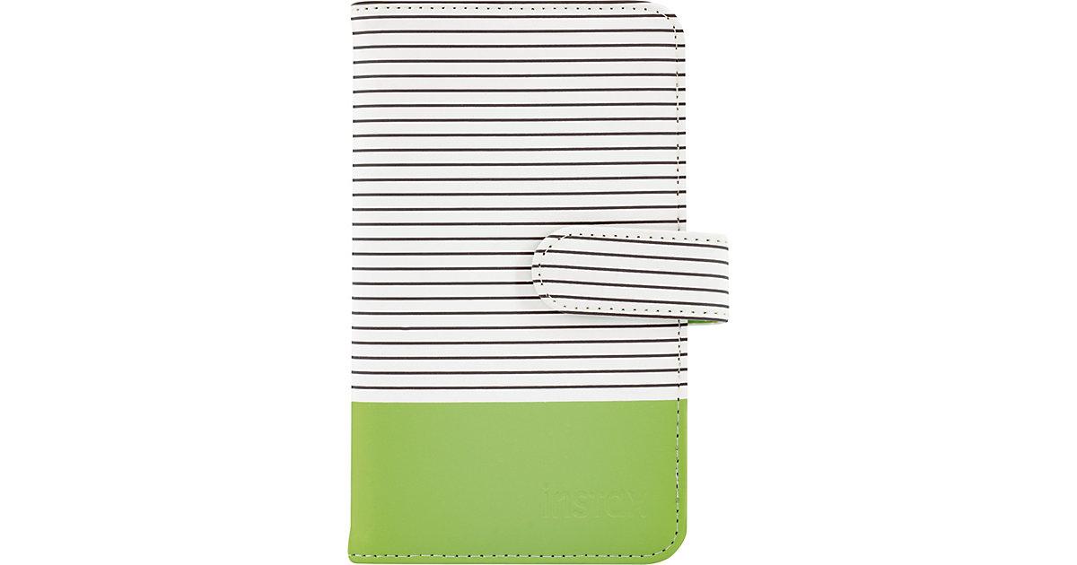 Fujifilm · Instax Mini 9 Striped Fotoalbum lime green 108 Bilder