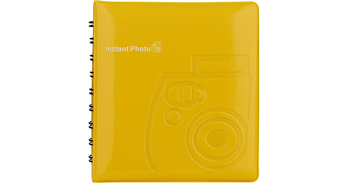Fujifilm · Instax Mini Fotoalbum yellow 64 Bilder 70100118319 Kinder