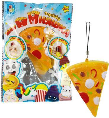 "Игрушка-антистресс 1Toy ""Мммняшка"" Пицца"