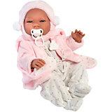 Кукла-реборн Asi Мария в розовом, 43 см