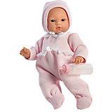 Кукла-пупс Asi Коки в утеплённом розовом кобинезоне, 36 см