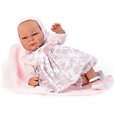 Кукла-реборн Asi Менсия в розовом 46 см, арт 464500