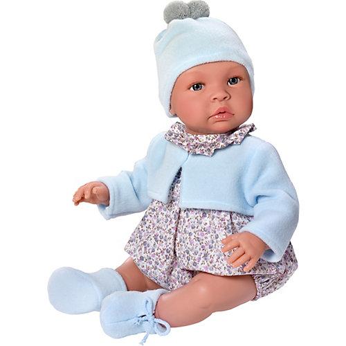 Кукла-реборн Asi Лео в голубом 46 см, арт 183471 от Asi