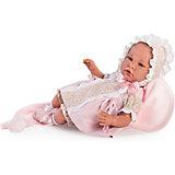 Кукла-реборн Asi Ирена в розовом 46 см, арт 474510