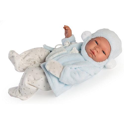 Кукла-реборн Asi Пабло в голубом 43 см, арт 364531 от Asi