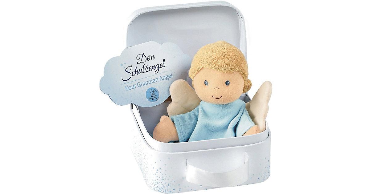 Schmusetuch M Schutzengel bleu