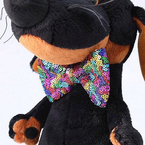 Мягкая игрушка Budi Basa Собака Ваксон в галстуке-бабочке в пайетках, 25 см от Budi Basa