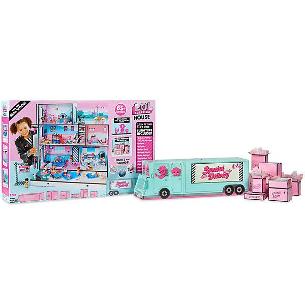 """Игрушечный домик MGA Entertainment """"LOL"""" для куколок, 3 этажа"""