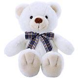 Мягкая игрушка Softoy Медведь, белоснежный, 32 см