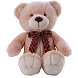 Мягкая игрушка Softoy Медведь, персиковый, 32 см