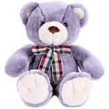 Мягкая игрушка Softoy Медведь, лавандовый, 32 см