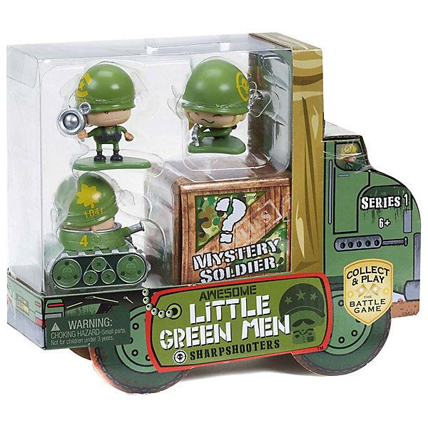 Набор игровых фигурок Awesome Little Green Men, 4 фигурки