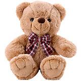 Мягкая игрушка Softoy Медведь, песочный, 30 см