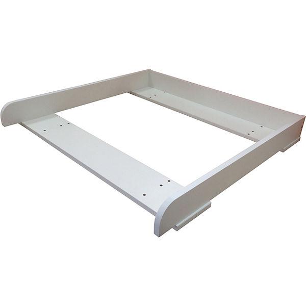 Wickelaufsatz Für Kommode Hemnes Ikea Weiß 1412 9 Polini Kids
