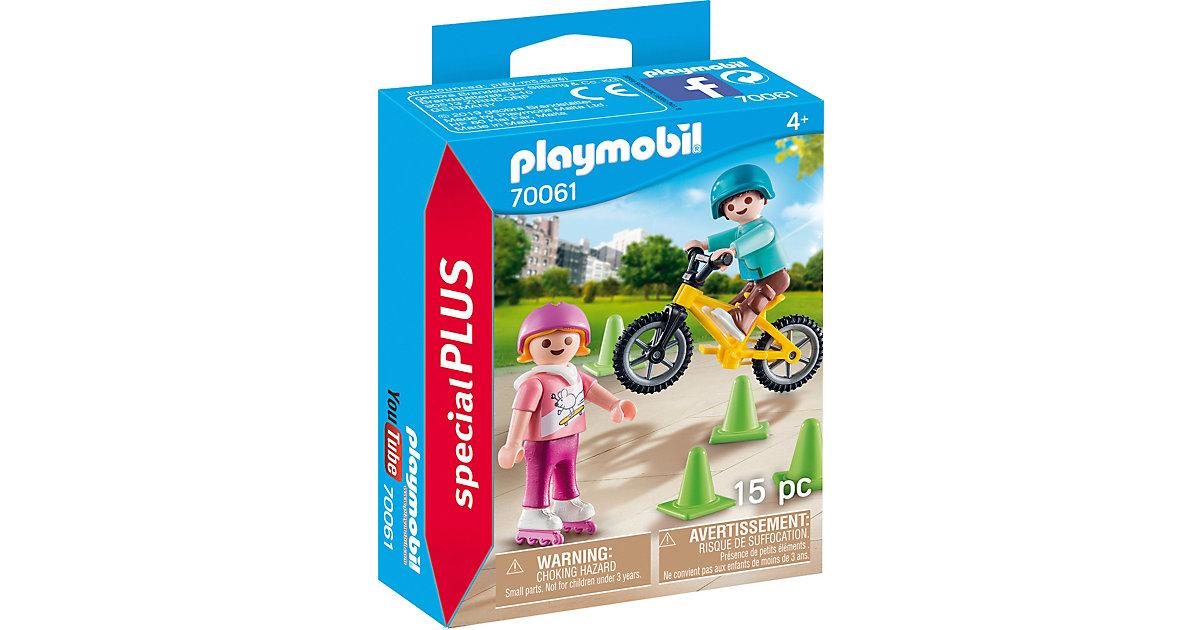 PLAYMOBIL® 70061 Special Plus Kinder mit Skates und BMX