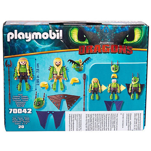 """Игровой набор Playmobil Dragons """"Забияка и Задирака"""" от PLAYMOBIL®"""
