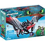 """Игровой набор Playmobil Dragons """"Смертолап и Гриммель"""""""