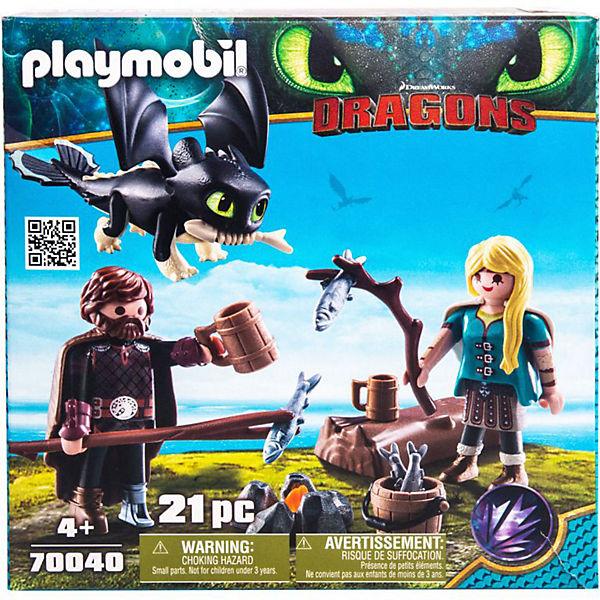Playmobil 70040 Hicks Und Astrid Spielset Dragons Mytoys