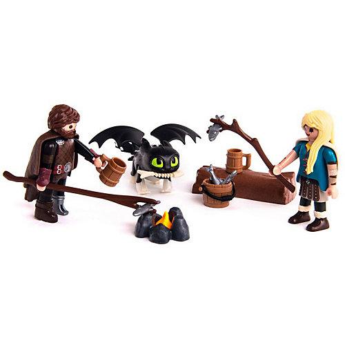 """Игровой набор Playmobil Dragons """"Викинг и Астрид"""" от PLAYMOBIL®"""