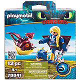 "Игровой набор Playmobil Dragons ""Астрид и Объедала"""