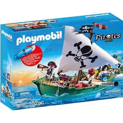 PLAYMOBIL 70151 Piratenschiff