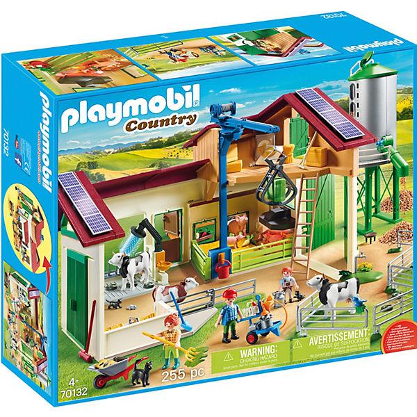 Playmobil 70132 Großer Bauernhof Mit Silo Playmobil Country Mytoys