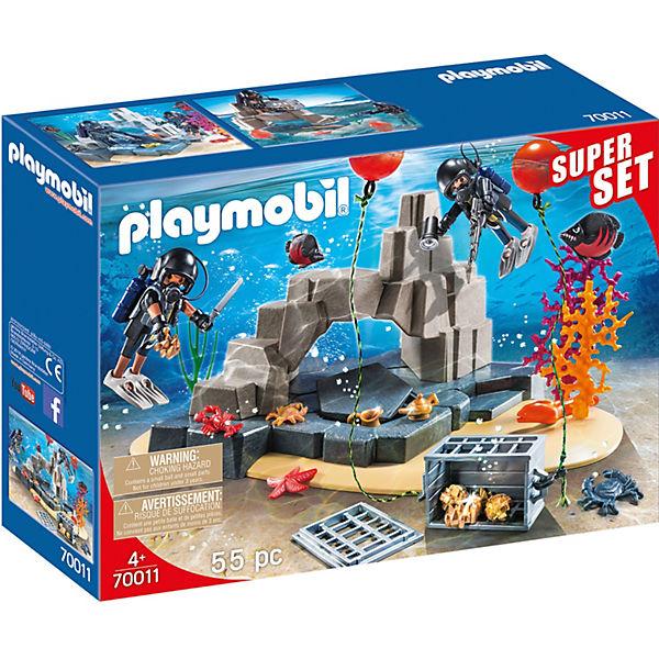 Playmobil 70011 Superset Sek Taucheinsatz Special Specialpacks