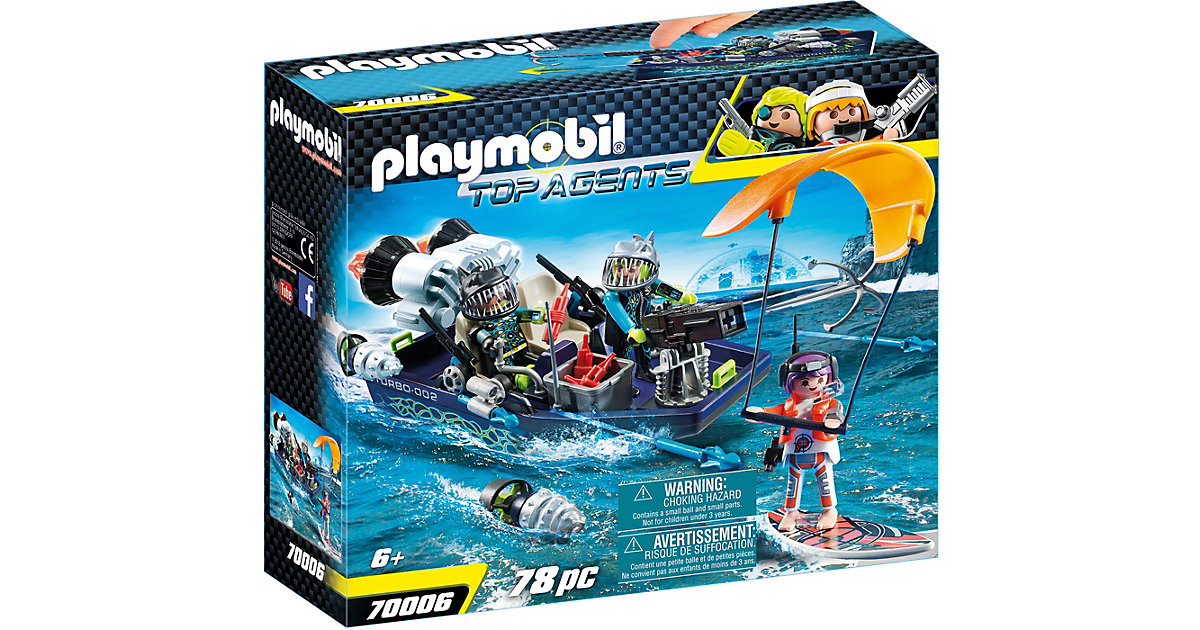 PLAYMOBIL® 70006 Team S.H.A.R.K. Harpoon Craft