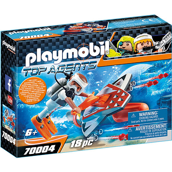 PLAYMOBIL® 70004 Spy Team Underwater Wing