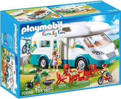 Konstruktionsspielzeug Baukästen & Konstruktion PLAYMOBIL Familien-PKW