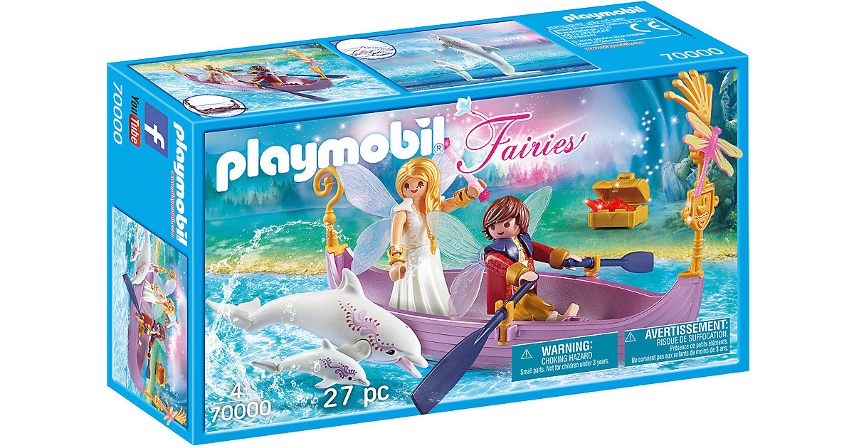 PLAYMOBIL® 70000 Romantisches Feenboot