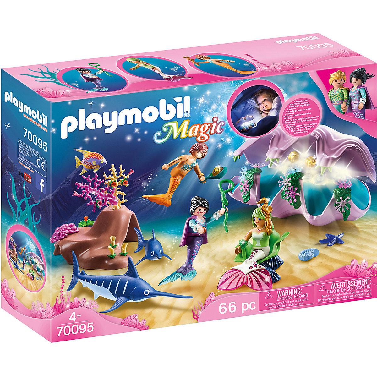 playmobil® 70095 nachtlicht perlenmuschel playmobil magic