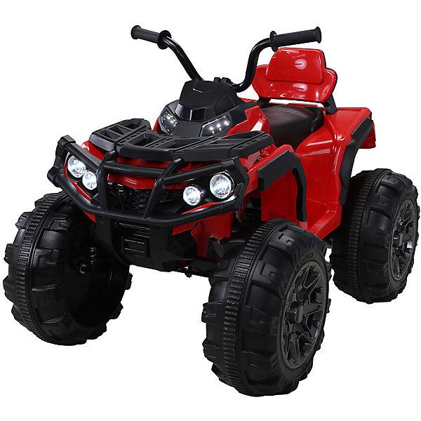 Kinder Elektro Quad Offroad Bumper 2x35 Watt, 12V, rot, Actionbikes Motors