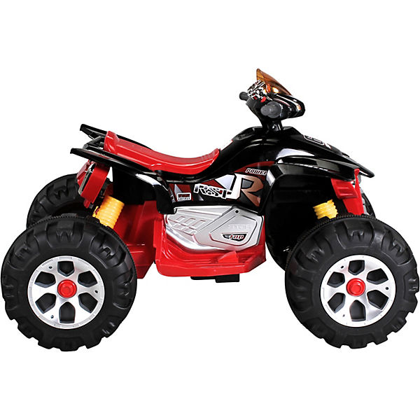Elektro Quad Burst 2x35 Watt, 12V, schwarz/rot, Actionbikes Motors