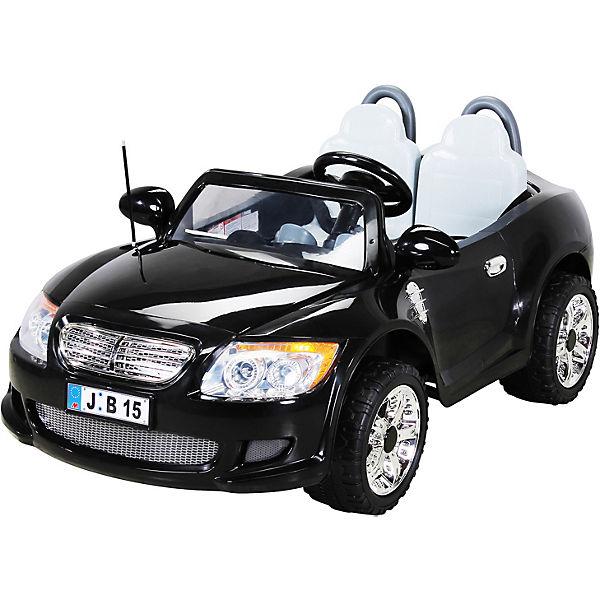 Elektroauto B15 Doppelsitzer 2x45 Watt, 12V, schwarz, Actionbikes Motors